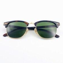 d1adbbaec بولو. حظر 3016 نادي النظارات الشمسية النساء الرجال 51 مللي متر TR إطار  الزجاج عدسة مرآة نظارات شمسية oculos دي سول Gafas UV400