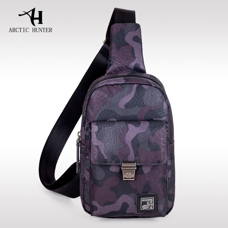 ARCTIC HUNTER Brand Camouflage Chest Bag Waterproof Man Messenger Bag Mini Crossbody&Shoulder Bag Oxford Military Travel Pack все цены