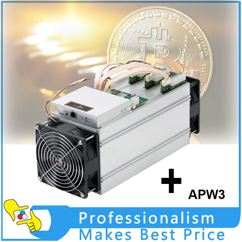 New AntMiner D3 Dashcoin Miner 19GH/S Dashcoin Mining Machine from Bitmain with Original APW3+Power Supply in Stock yunhui dash miner antminer d3 17gh s 1200w on wall no power supply bitmain x11 dash mining machine can miner btc on nicehash