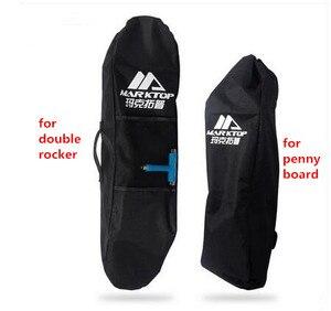 Image 1 - Qualidade REINO UNIDO Marca Marktop único ombro sacos de skate com 3 modelos feitos por 400 & 600D tecido para o tamanho 87*30 cm para o skate