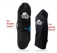 Qualità di Marca UK Marktop singolo sacchetto di spalla sacchetti di bordo da skate con 3 modelli realizzati da 400 e 600D tessuto per il formato 87*30 cm per lo skateboard