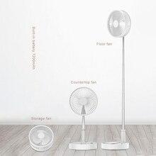 Портативный вентилятор с usb зарядкой телескопическое складывание вентиляторов Домашний Настольный бесшумный вентилятор охладитель воздуха летний Настольный напольный немой стол