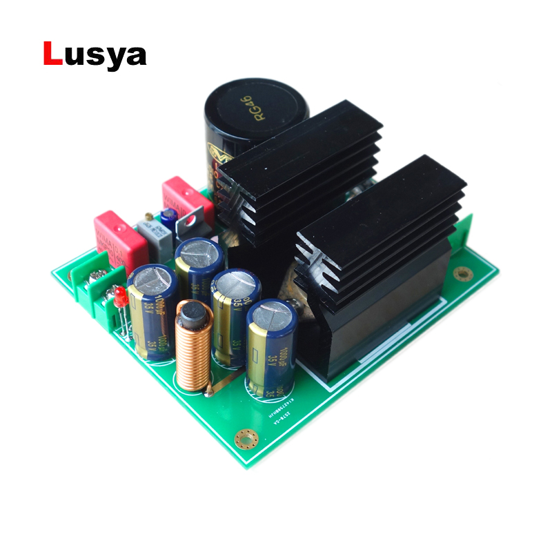 2-10A Gold Seal Linear High Current Regulated Power Supply Board Low Noise High Stability DIY T0065