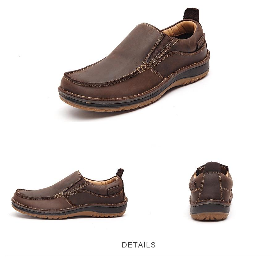Lingge Fashion туфли мужские Кожа коровы обувь для мужчин мужская обувь повседневная макасины мужские Производитель кросовки мужские#7287