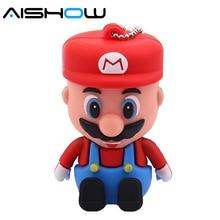 Super Mario usb flash drive gifts pen drive 2gb 4gb 8gb 16gb 32gb 64gb pen drive flash usb pendrive memory usb stick