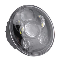 5.75Inch Refit Round Motorcycle Universal Headlight Headlamp Accessories Driving Fog Spot Head Light Spotlight Assist Lamp