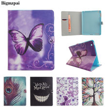"2017 3D Print Leather Case For iPad 2 3 4 9.7"" Tablet Book Flip Stand Protective Cover for iPad 2 iPad 3 iPad 4 with Card Holder(China)"