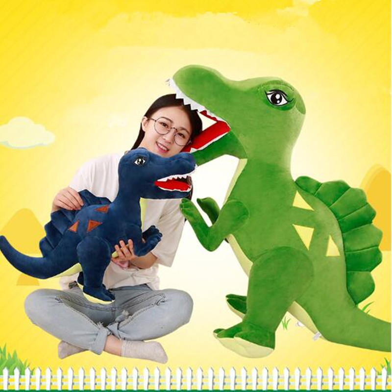 150cm Large Stegosaurus Tyrannosaurus Doll Dinosaur Plush Toy pillow doll big size Stuffed Plush Animals birthday gift