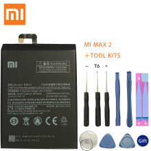 Original Replacement Battery For Xiaomi Mi Max 2 Max2 BM50 Genuine Phone 5300mAh
