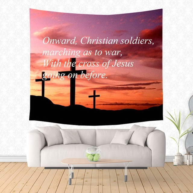 Christian Bible Verse Pattern Tapestry Decorative Wall Hanging Carpet Bedding Outlet Door Curtain Textiles  sc 1 st  AliExpress.com & Christian Bible Verse Pattern Tapestry Decorative Wall Hanging ...