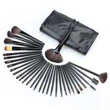 32pcs Professional Soft Eyebrow Shadow Makeup Brush Set Cosmetic Kit Case