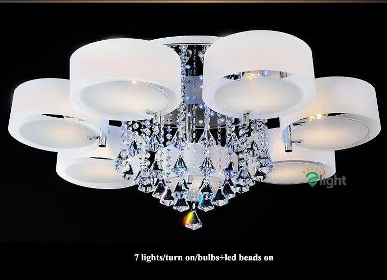 jantar led luzes lustre teto luminária