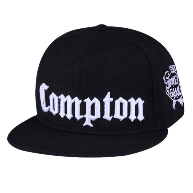 635a2cf2a46cf Best West Beach Gangsta City Crip N.W.A Eazy-E Compton Skateboard Cap Snapback  Hat Hiphop Fashion Baseball Caps Flat-Brim Cap