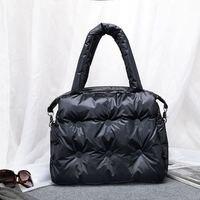 2019 new Winter Single Shoulder Tote Women Space Pad Cotton Feather Down Bag Bucket Handbag sac a main carteira Bolsa Feminina