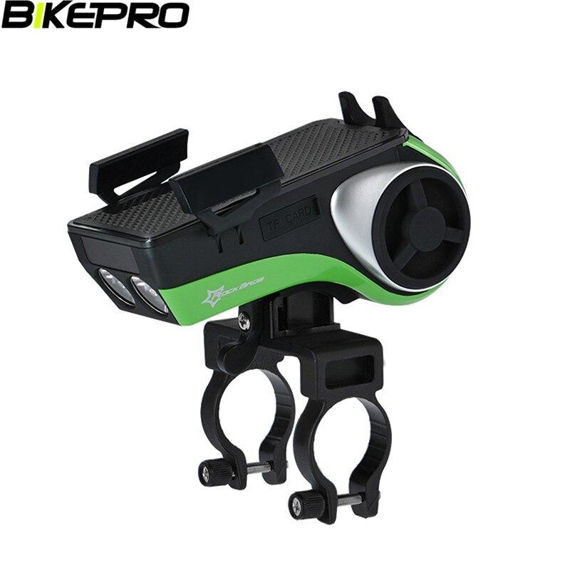 ФОТО Bicycle Mutifunction Handlebar Phone Holder+LED Flashlight Bluetooth Music Player Bicyle Bell Muti-useful Bike Phone Holder V3.0