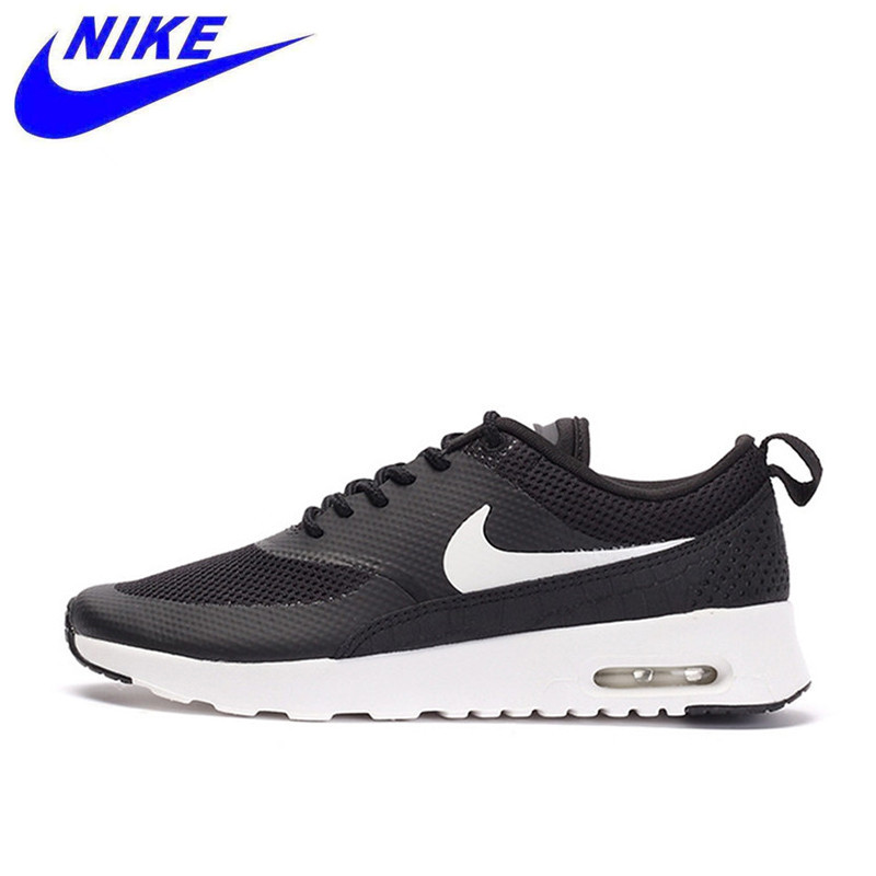 on sale 2007e 5b7cb NIKE New Arrival Breathble Black AIR MAX THEA Official Women s Running  Shoes Sneakers 599409-020