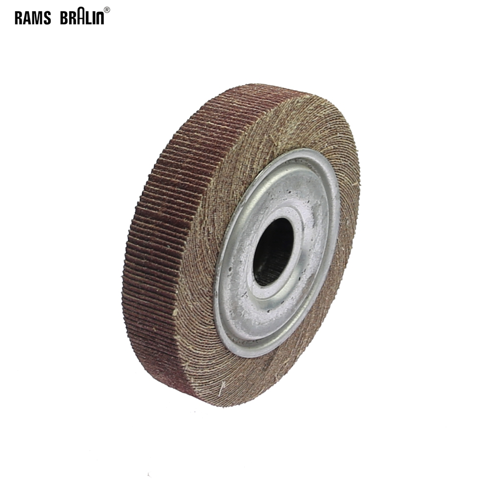 6*1*1 Flange Abrasive Flap Wheel Sanding Cloth Mop Wheel Metal Wood Polishing Grinding6*1*1 Flange Abrasive Flap Wheel Sanding Cloth Mop Wheel Metal Wood Polishing Grinding