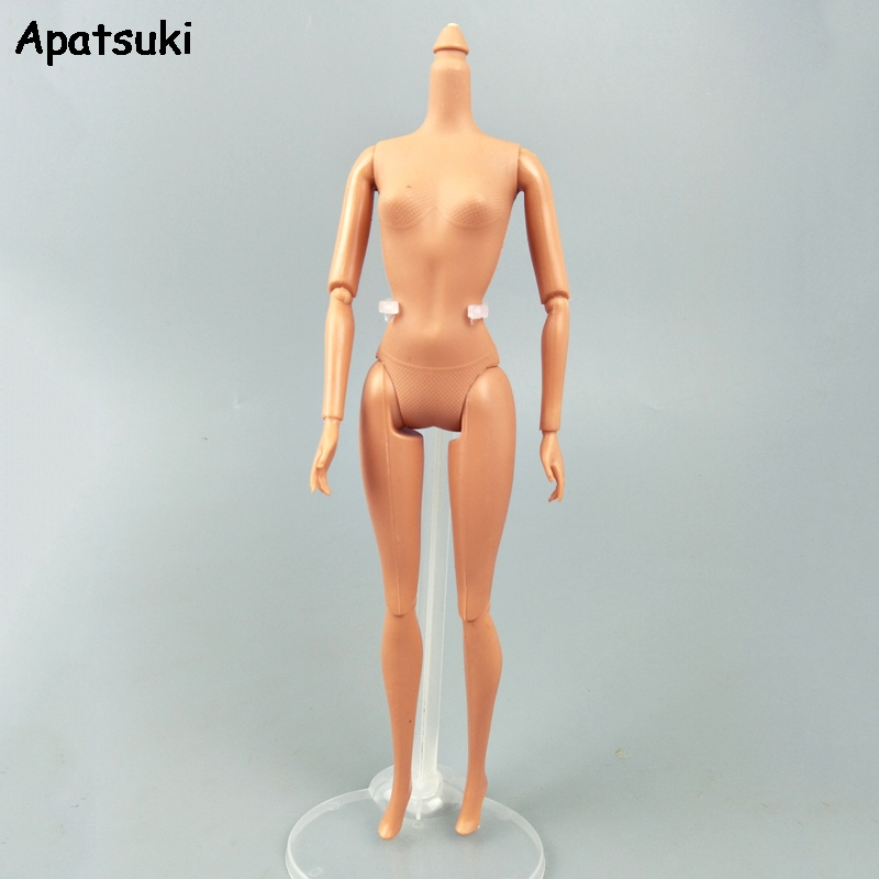 Baby Toy 1/6 11 Joints DIY Movable Nude Naked Doll Body For 11.5