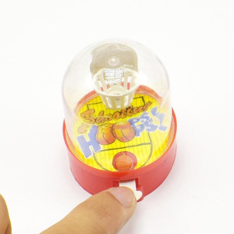 Mini Pocket Basketball Toy Finger Shooting Machine Desktop Games Training Interest For Children's Gifts Random Color