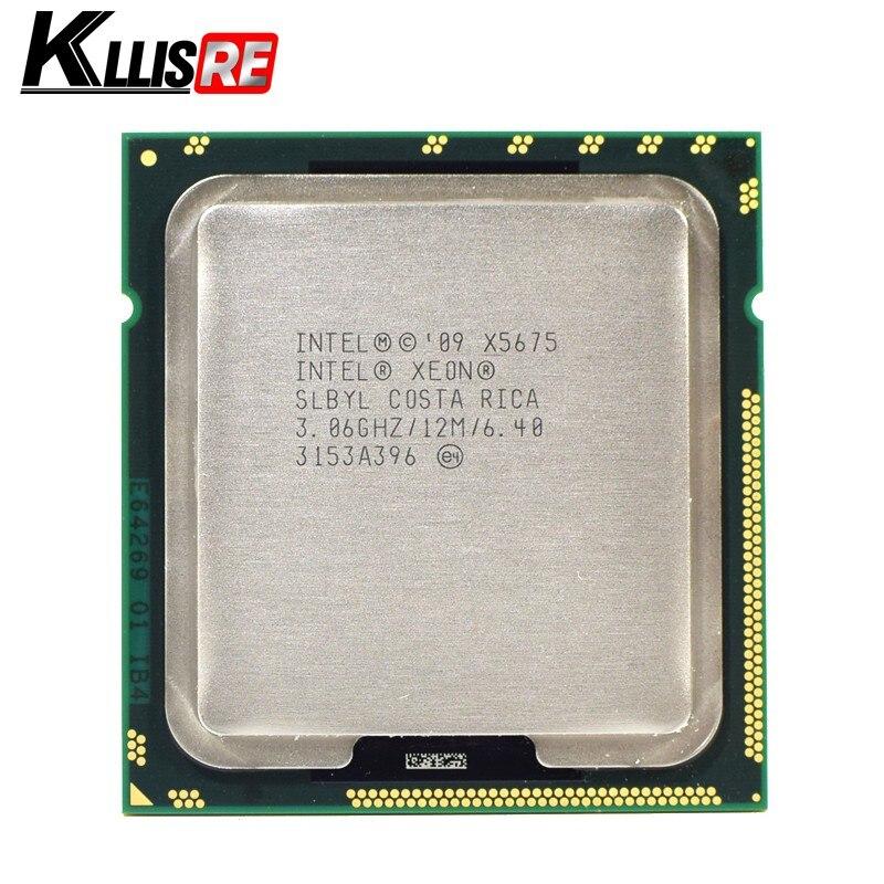 Intel Xeon X5675 3.06GHz 12M Cache Hex 6 SIX Core Processor LGA1366 SLBYL QTY:1
