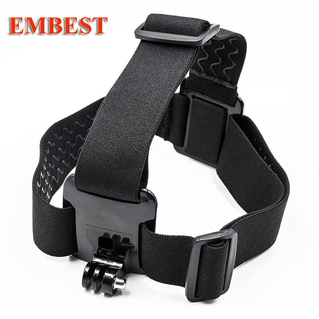 Elastic Mount Belt Adjustable Head band Strap for Go Pro Session Gopro Hero 7/6/5/4/3 SJCAM EKEN H9  SJ6 SJ7  Mijia Yi 4k