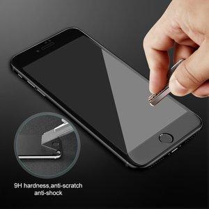 Image 5 - Ronican 3d 전체 곡선 강화 유리 애플 아이폰 7 6 6s 프리미엄 진짜 9 h 탄소 섬유 필름 전체 화면 커버 수호자