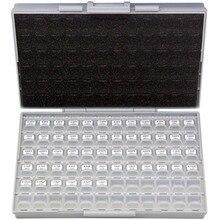 AideTek SMT/SMD 0603 размер коробка с конденсаторами organizzation набор для хранения с корпус с алюминиевой крышкой, 50В x 10 шт. пластик ассортимент ящик для инструментов C0610