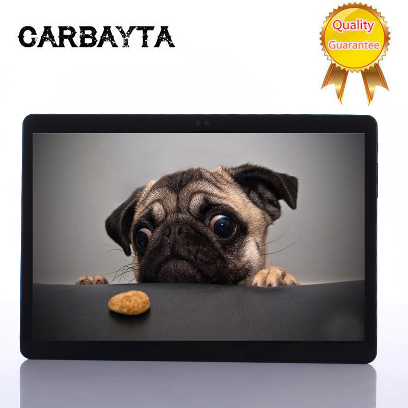 CARBAYTA  Android 7.0 10.1 inch MT6797 S110 tablet pc 10 Core 4GB RAM 64GB ROM 1920x1200 IPS 4G LTE Gift tabletter