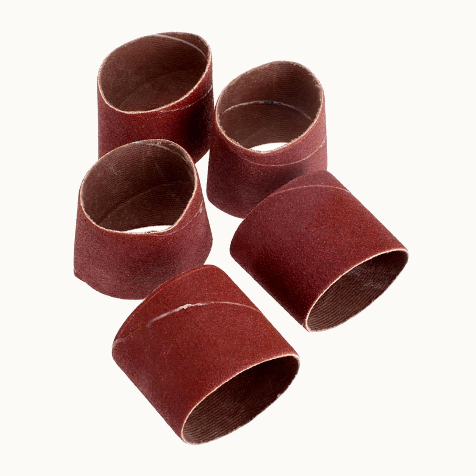 5Pcs Dremel Accessories Sanding Band 80 Grit 38mm Drum Sanding For Dremel Nail Drill Bits File Machine Rotary Tool Abrasive Tool