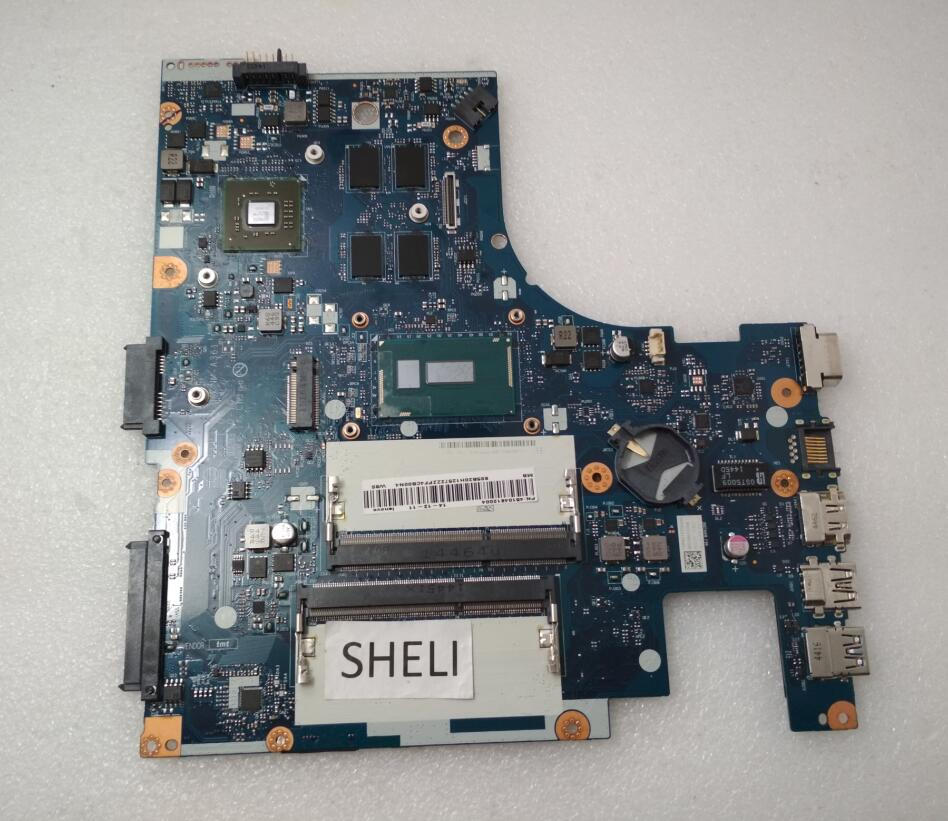 SHELI For <font><b>Lenovo</b></font> G40-80 Motherboard with I5-5200U ACLU3 ACLU4 <font><b>NM</b></font>-<font><b>A361</b></font> 5B20H12572 image