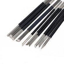 Инструмент для резьбы по камню KangTeer 10 шт. Высокоуглеродистая Сталь Резьбы/комплекты ножей