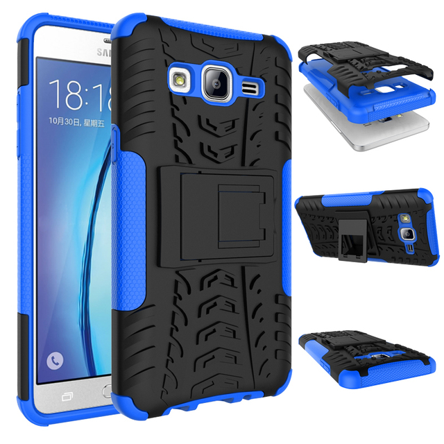 low priced 7987a 85ca3 US $3.99 |Premium Armor Stand Cover for Samsung Galaxy On5 On 5 Case Hybrid  TPU+PC Cell Phone Cases for Samsung On5 G5500 Cover-in Fitted Cases from ...
