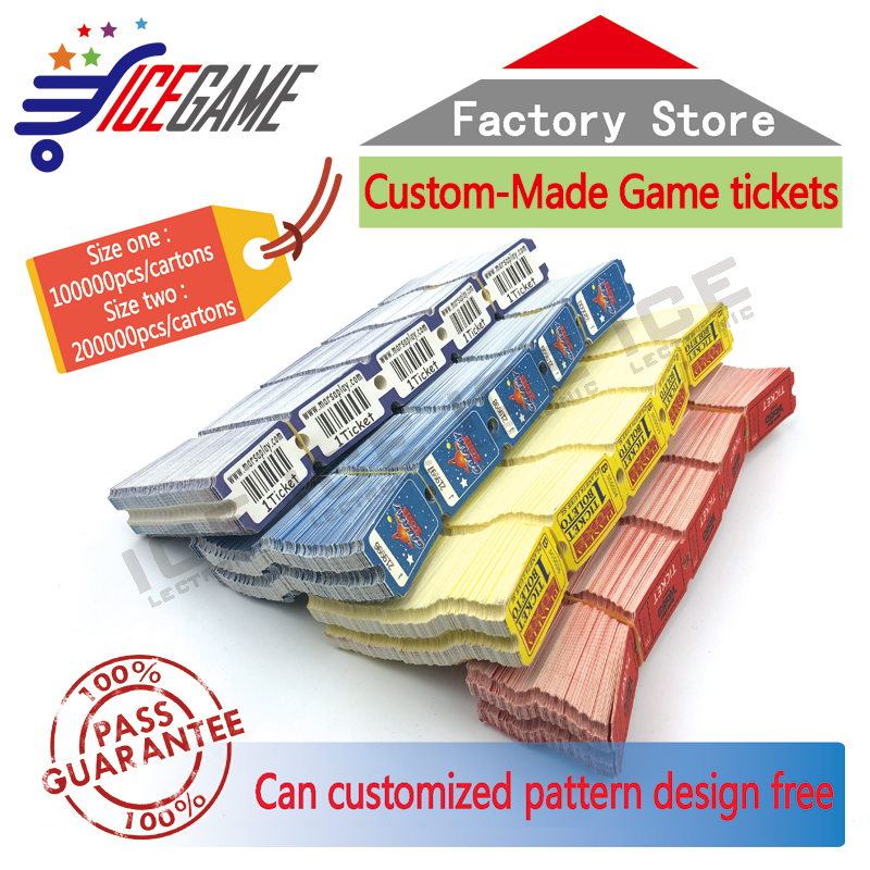 graphic relating to Printable Ticket Paper named US $64.99 Higher good quality Paper ticket redemption printing arcade activity gadget tickets redemption tickets for match device-inside of Substitution Sections
