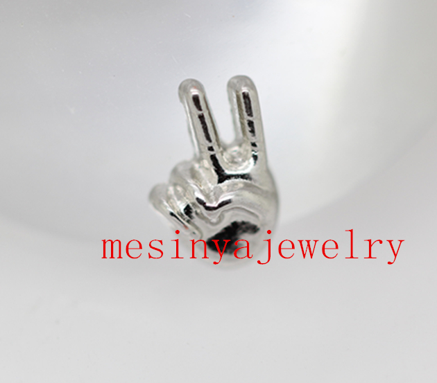 10pcs peace sign floating charms for glass locket,FC-283