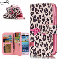 Fashion Flip Leather Case For Samsung Galaxy S3 I9300 Magnetic Coque For Galaxy SIII Stand Magnetic