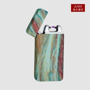 Image 3 - Plasma Cigar Arc Palse Lighter Pulse Windproof Lighter Thunder USB Lighter Rechargeable Cigarette Accessorie Electronic Lighter