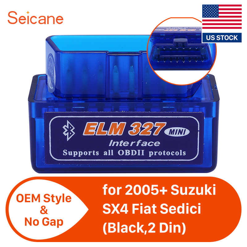 Seicane Super Mini V1.5 ELM327 OBD2 Bluetooth Interface Auto Car Scanner Diagnostic Tool for VW Chrysler Ford Mazada Nissan