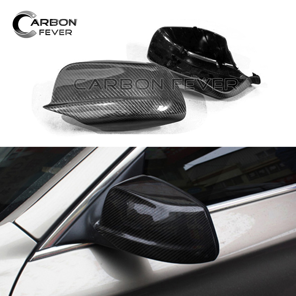 F10 OEM Style Carbon Fiber Mirror Cover For BMW F10 F07 F06 F12 F13 F01 F02 F03 F04 Side Door Mirror Caps цена