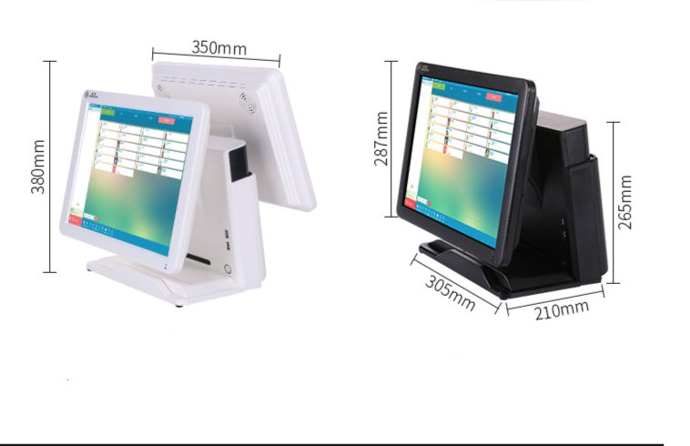 15 Inch All In One Touch Screen POS / POP System Kits Touch POS System