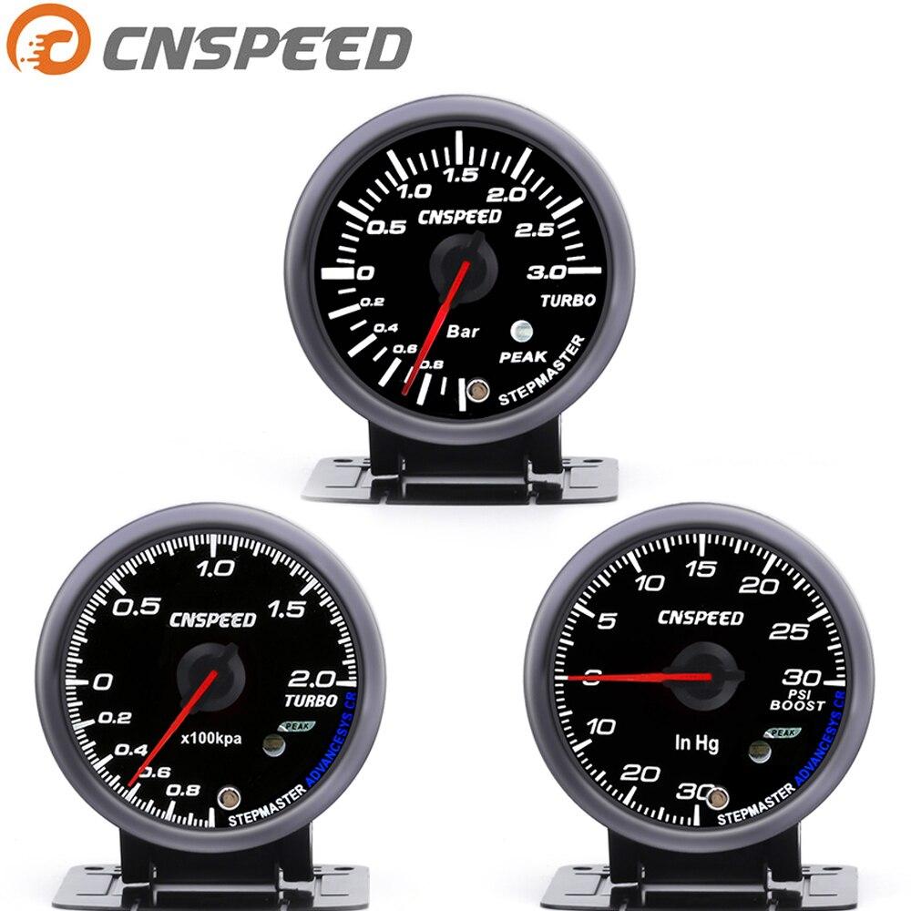 CNSPEED 60mm 6201BB turbocharger table 0~3bar /6201BB turbocharger table 2Bar /6202BB turbocharger table Psi black YC101347