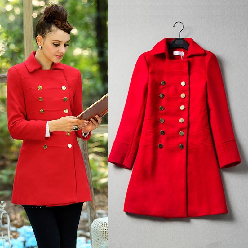 Red Wool Coat Uk - Coat Nj