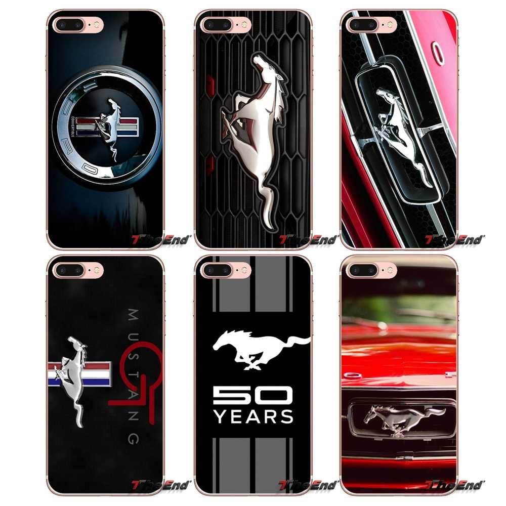 Ford Mustang GT Concept Boss Logo Case Cover For Apple iPhone X 4 4S 5 5S q50