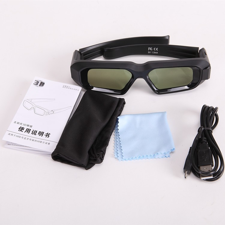 2017 new version Luxury New usb chargeable RF Bluetooth shutter 3D glasses for EPSON Projector TW5200/6600/5300/5210/5350