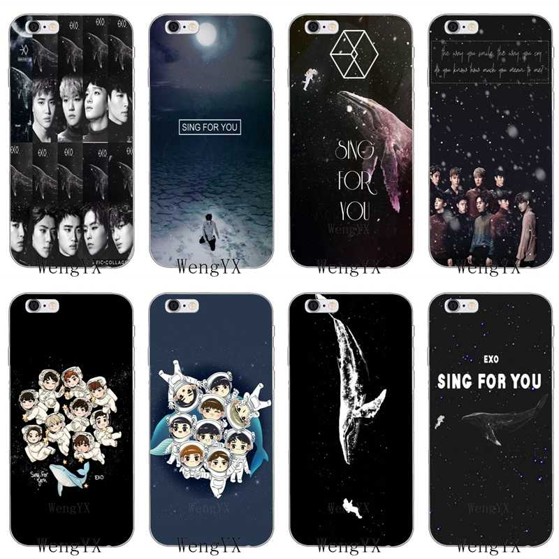 EXO SING FOR YOU tpu Soft case For Samsung Galaxy A10 A30 A40 A50 A60 A70 A5 A6 A7 A8 A9 J8 J4 J6 prime plus 2018