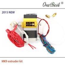 – Mk9 kit cabeça do metal bico MK8 versão proximal modelos 3d makerbot diy acessórios