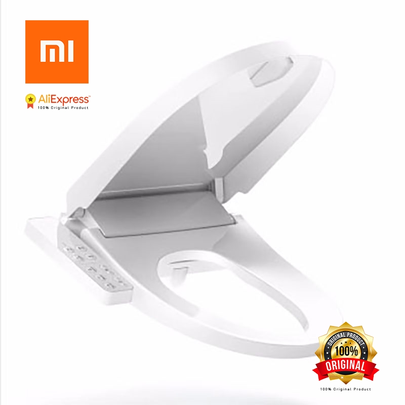 Xiaomi Original Toilet Cover Intelligent Thermostatic Water Heating Household Automatic Frequency Sterilized Deodorized china sanitary ware chrome wall mount thermostatic water tap water saver thermostatic shower faucet