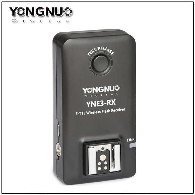 Yongnuo YN E3 RX E TTL Wireless Flash Receiver for YONGNUO YN568EX II YN565EX II YN600EX