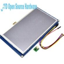 Nextion 7.0 Cal ekran dotykowy TFT 800x480 UART HMI inteligentny inteligentny LCD moduł Panel wyświetlacza dla Raspberry Pi 3 model