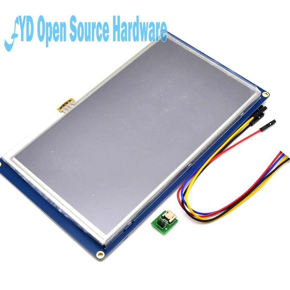 Nextion 7.0 pouce TFT Écran Tactile 800x480 UART IHM Intelligente Intelligente de Module D'affichage à cristaux liquides de Panneau Pour La Framboise Pi 3 modèle