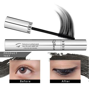 New Arrival 1Pcs Waterproof Eye Mascara Makeup Long Eyelash Silicone Brush curving lengthening colossal mascara ST4S9